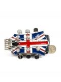 Union Jack Guitar Head Belt & Buckle